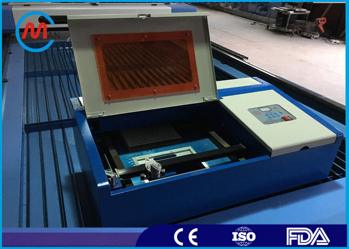 40W Co2 Laser Tube Table Top Mini Laser Cutting Machine For Metal High Speed
