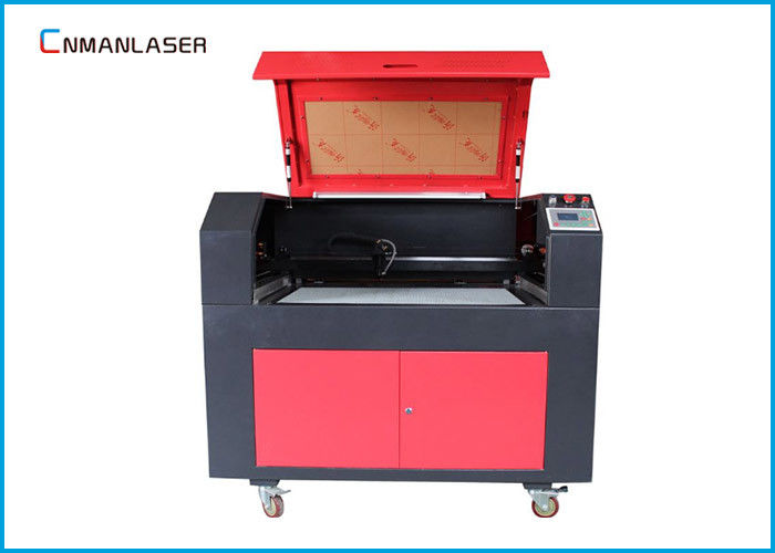 9060 MDF Plywood Co2 Laser Cutter Machine With 80w Ruida Control System Stepper Motor
